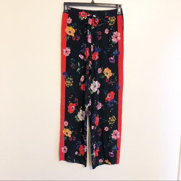f0a0f890 Zara Pants   Nwt Trf Floral Joggers   Poshmark
